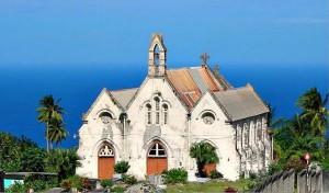 """Sanctuary at Sea's Edge."" St. Joseph's Parish Church, Barbados. Photo by Kaspar Coward, used with permission."