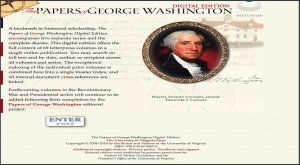 Papers of George Washington Digital Edition - Rotunda