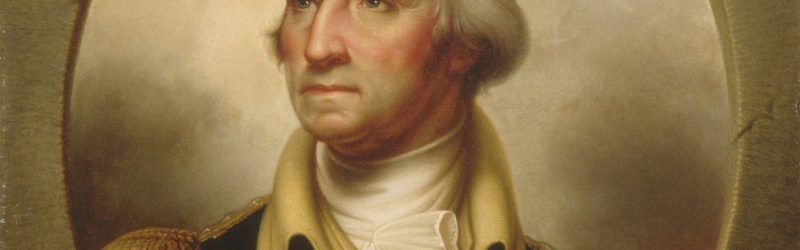 George Washington (porthole portrait), Rembrandt Peale.