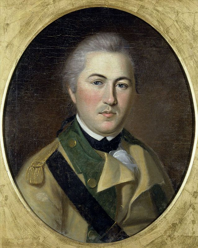 Henry Lee, oil on canvas painting by Charles Willson Peale (ca. 1782).
